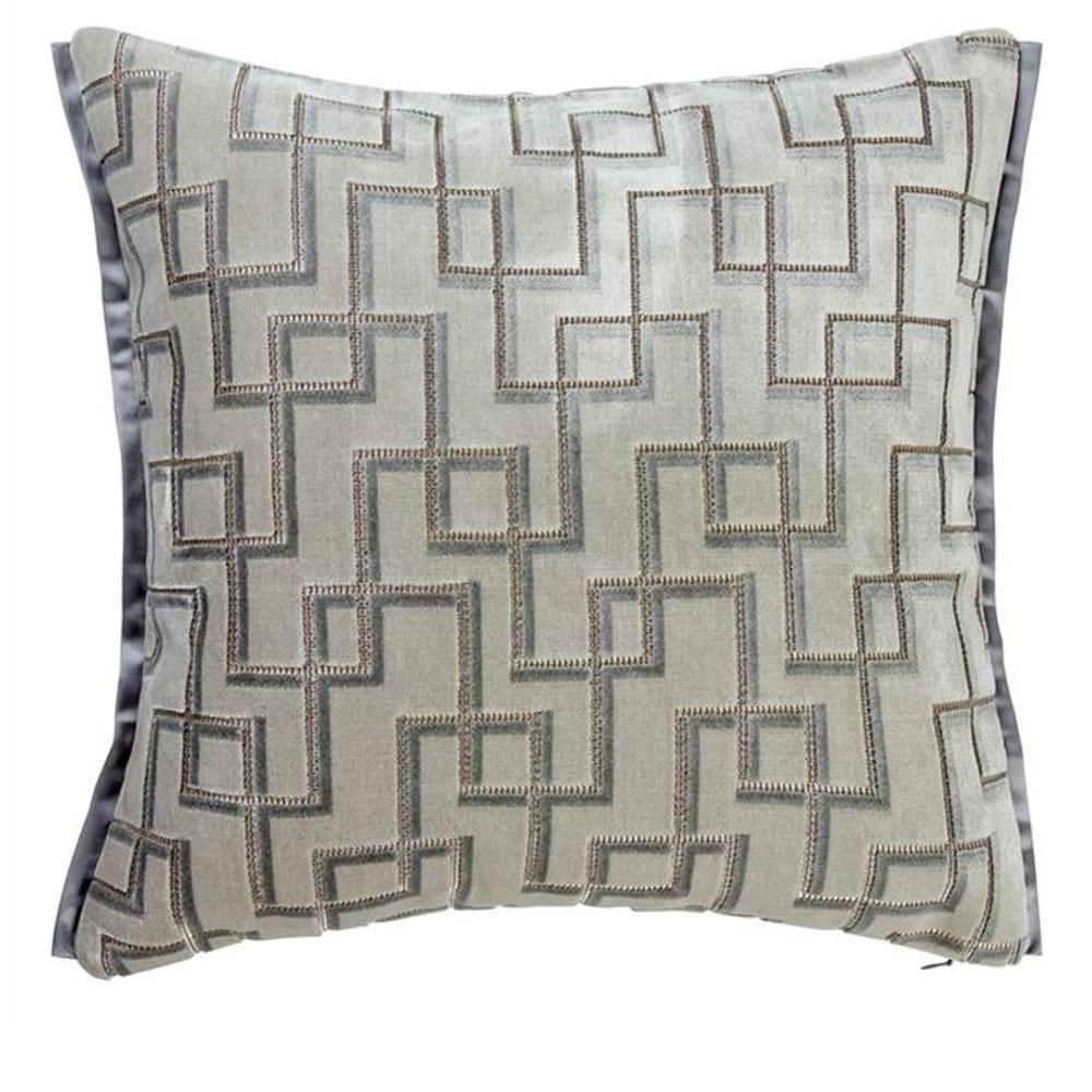 Kissen Jeanneret - Farbe Platinum - Vorderseite