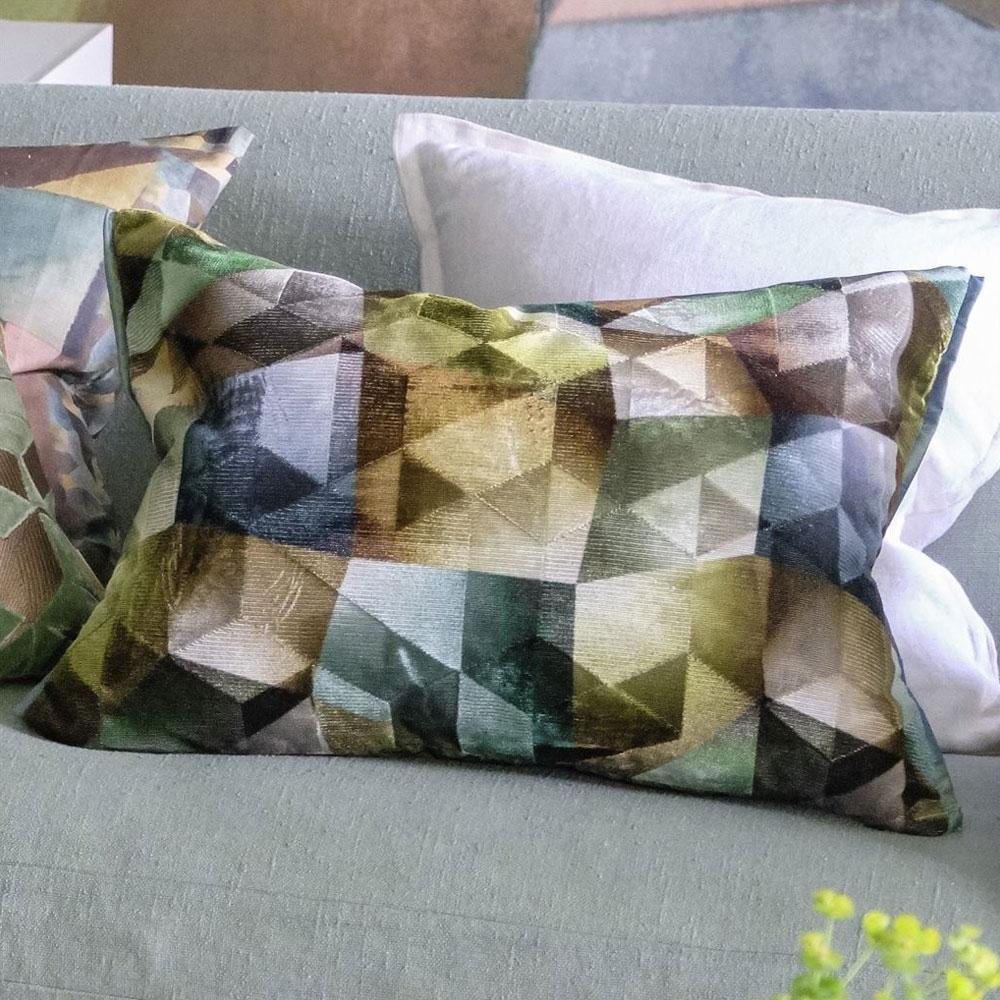 Designers Guild Kissen Maurier Emerald