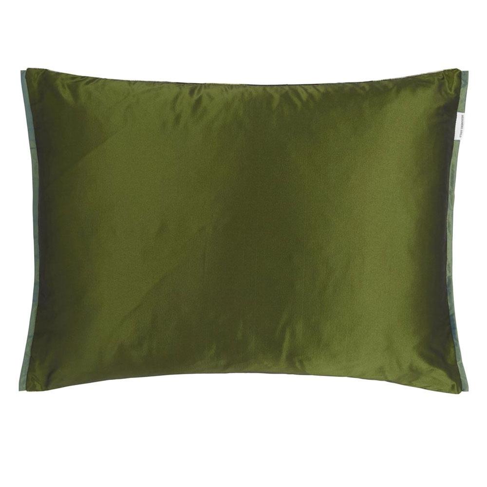 Designers Guild Kissen Maurier Emerald - Rückseite
