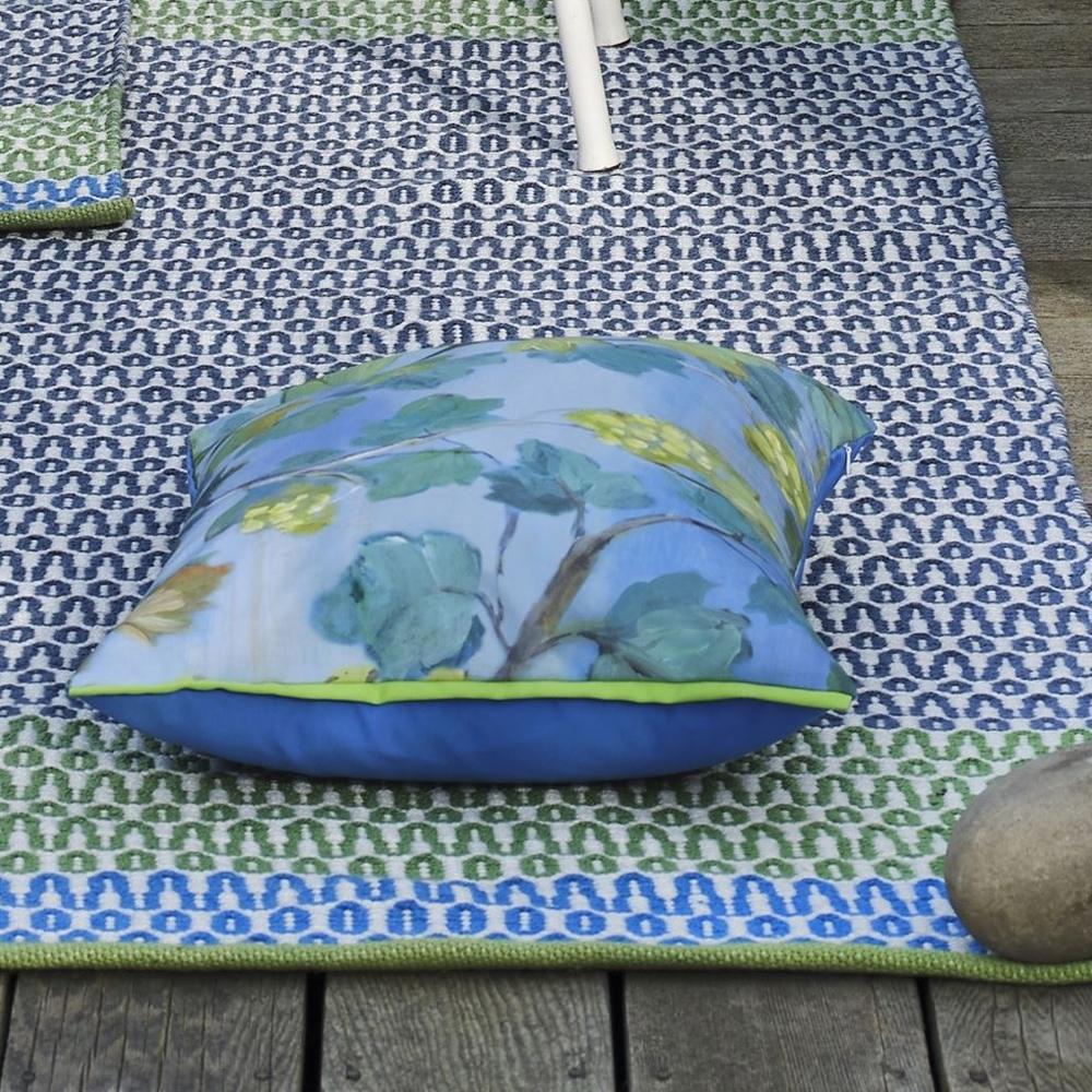 Indoor/ Outdoor Teppich Cortez Cobalt - Detailansicht