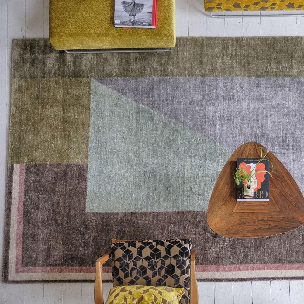 Designers Guild Teppich Alphonse Moss - Detailbild