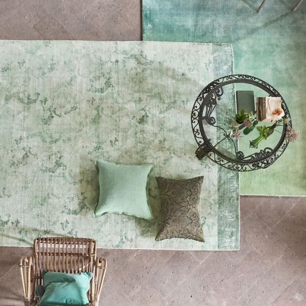 Designers Guild Teppich - La Rotonda Pale Aqua