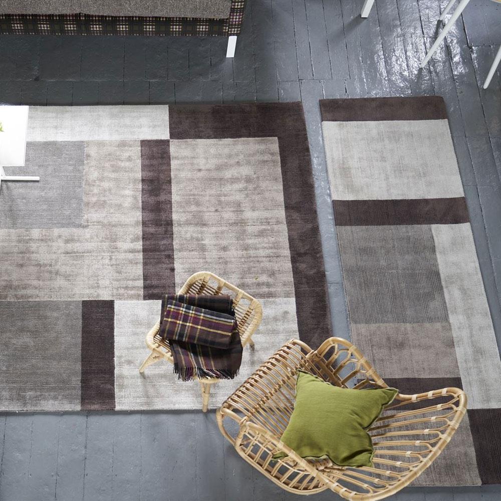 Designers Guild Teppich + Teppichläufer Odhani Natural
