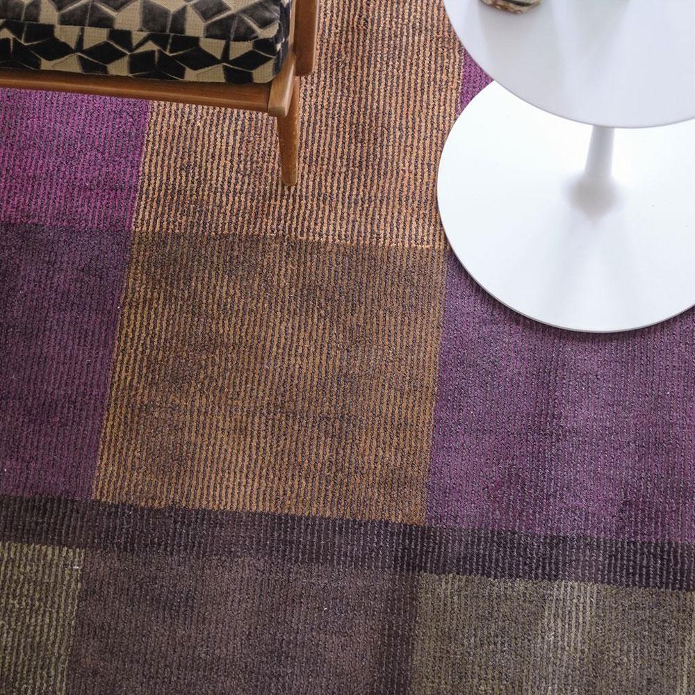 Teppich Sarang - Farbe Chocolate - Detailansicht
