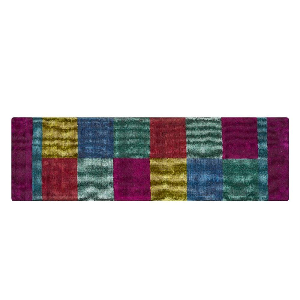 Designers Guild Teppichläufer Sarang - Farbe Fuchsia