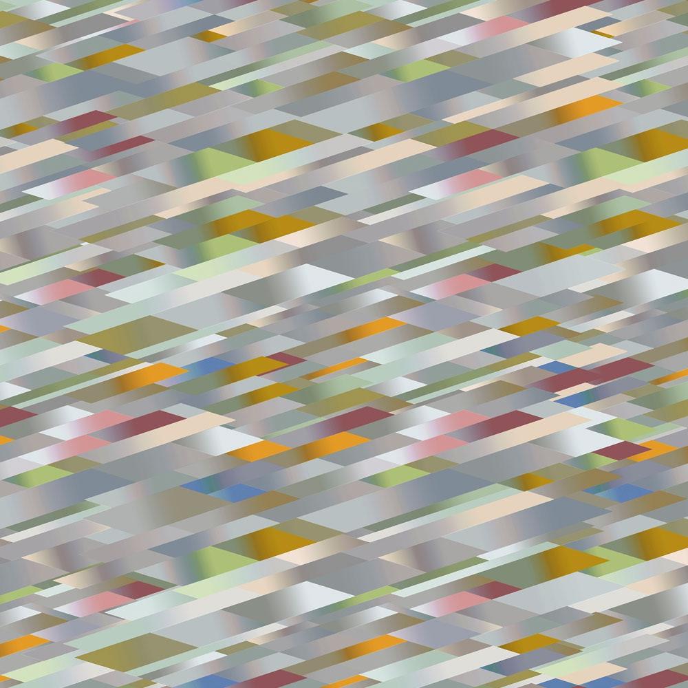 Diagonal Gradient - Broadloom - 4 Farben