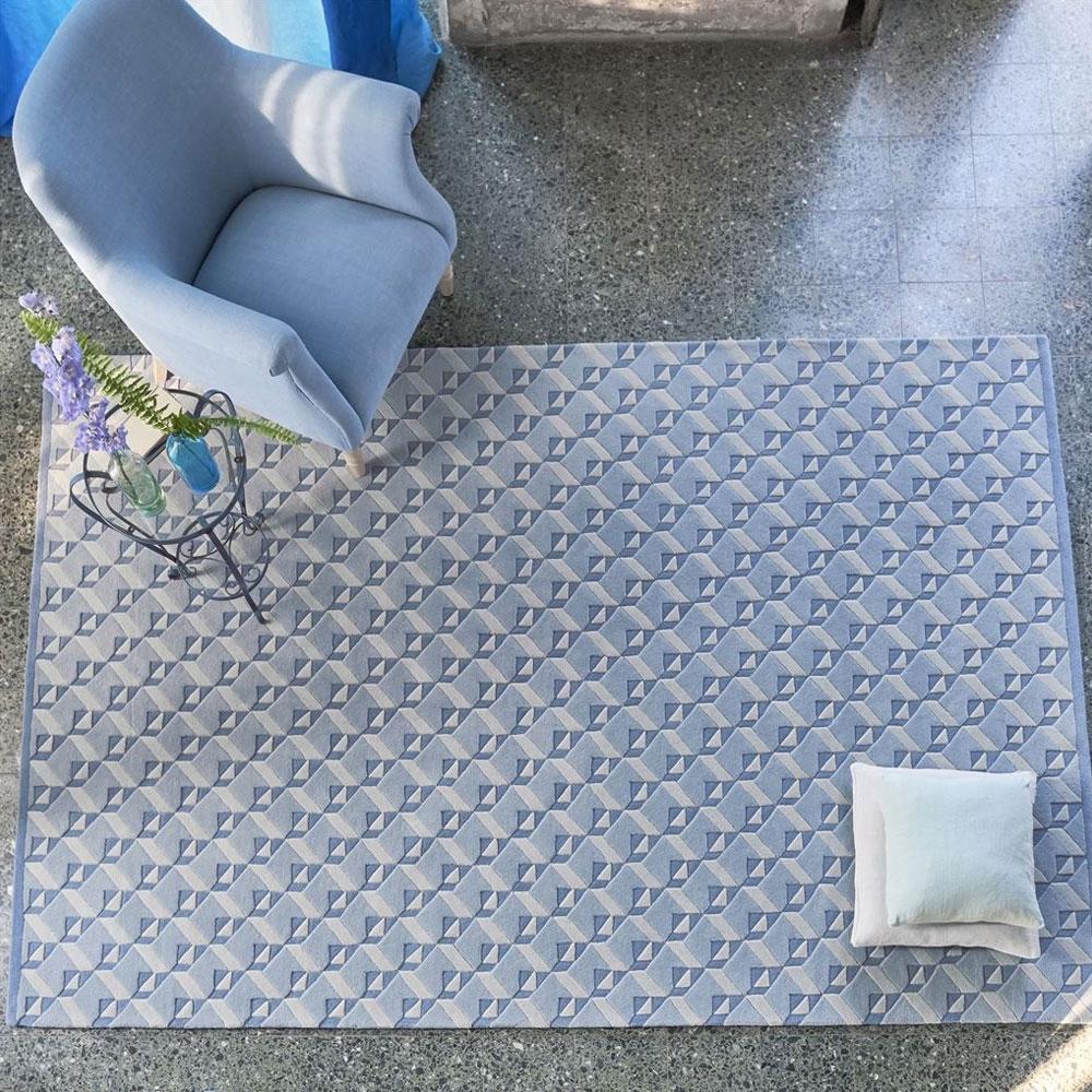Dufrene - Farbe Delft - im Wohnzimmer
