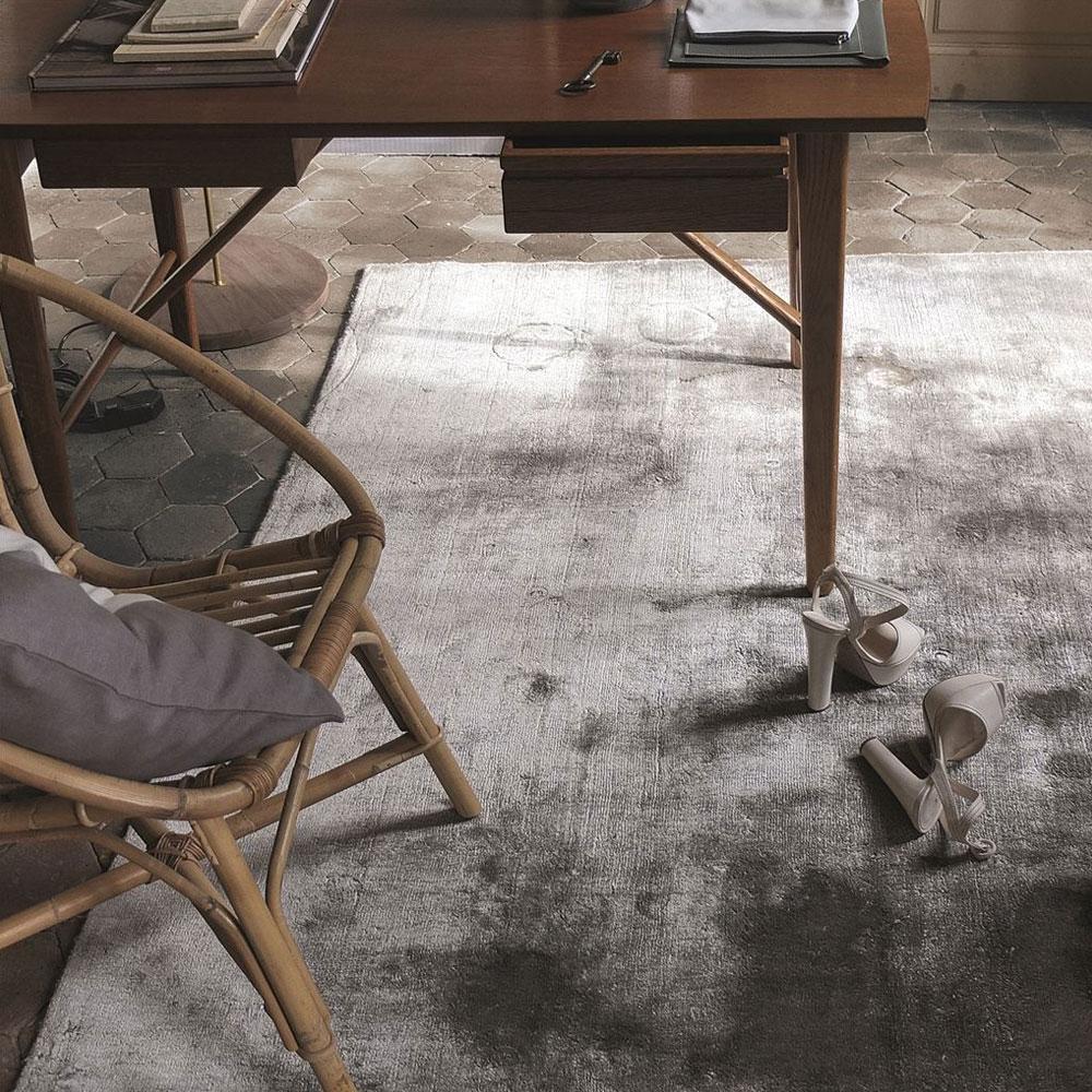 Designers Guild Teppich Eberson - Farbe Slate