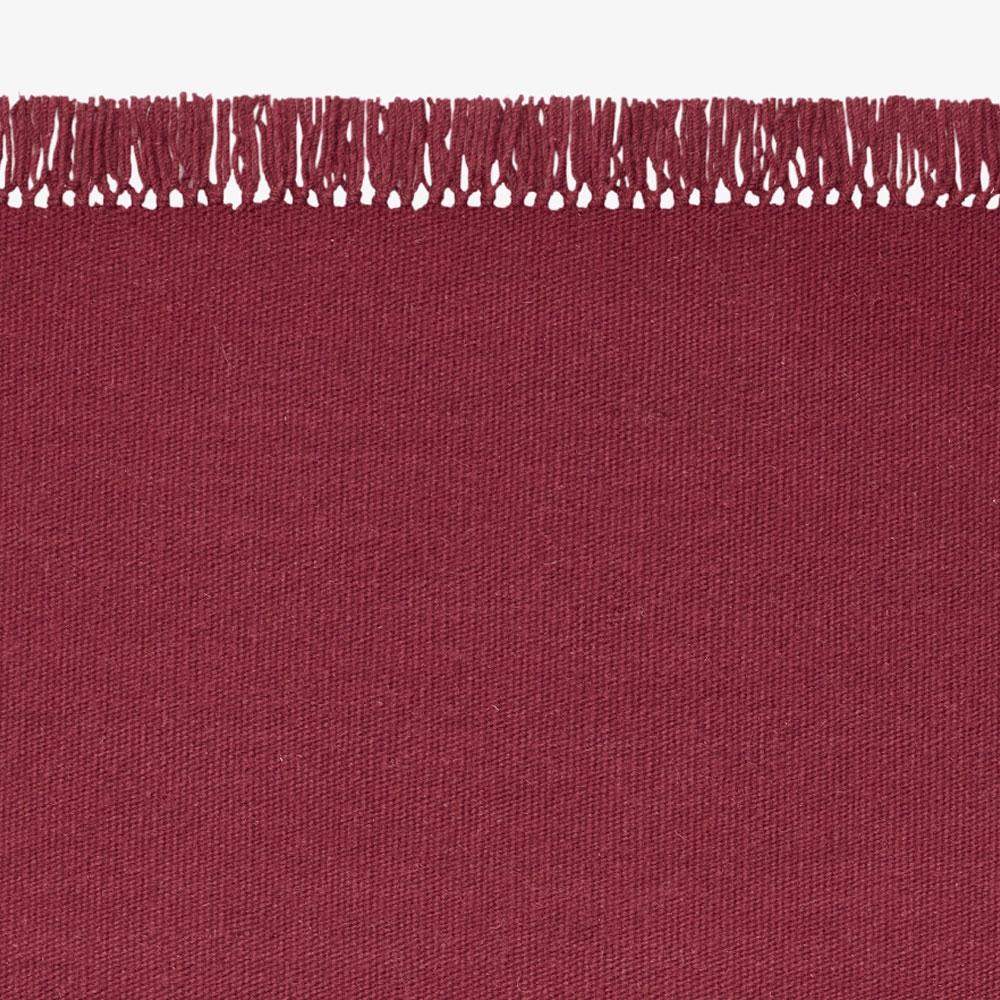 Kelim Coloured Fringes/ Without Fringes - 40 Farben - eckig/ rund