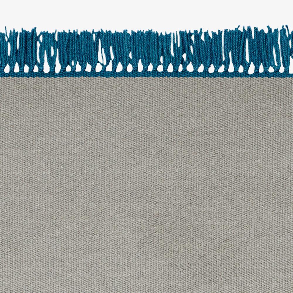 Kelim Cross Coloured Fringes - 9 Farben - eckig/ rund