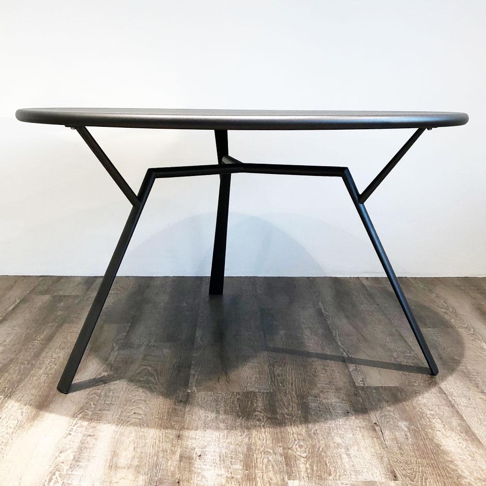 Fast Gartentisch - Radice Quadra rund - Tischgestell
