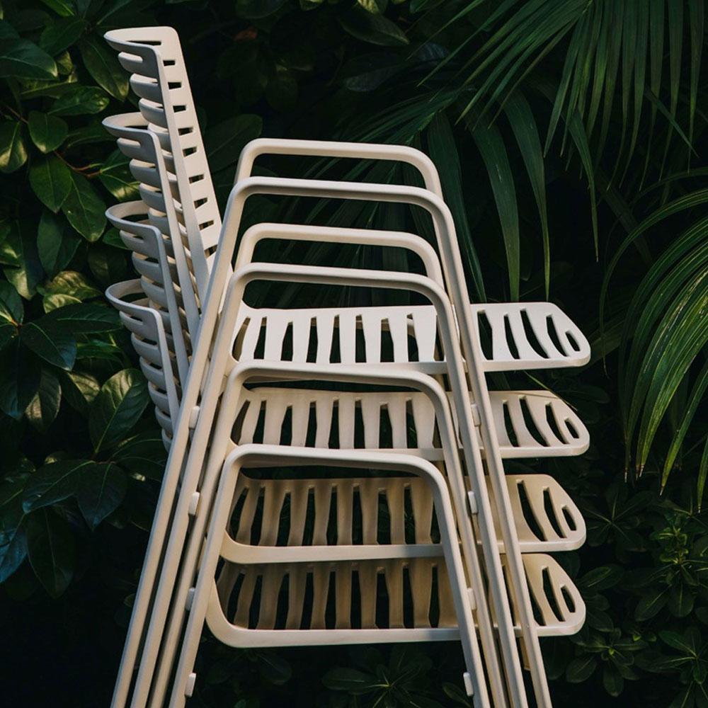 Zebra Armlehnstuhl - stapelbar
