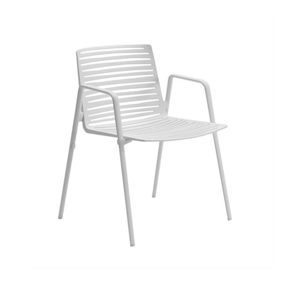 Zebra Armlehnstuhl - cremeweiß