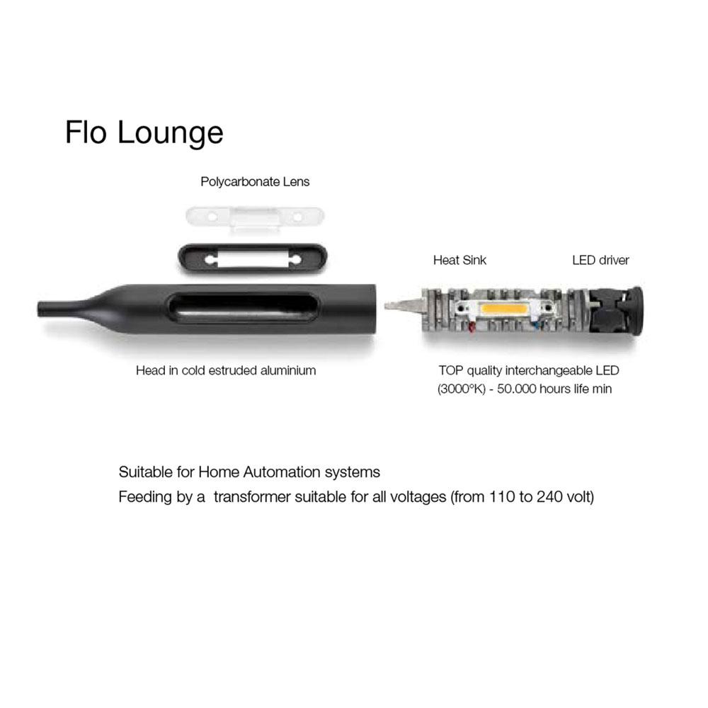 Flo Lounge - austauchbares LED Leuchtmittel