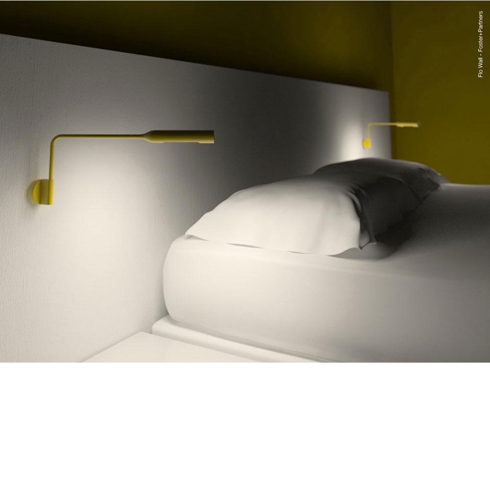 Flo Wall - mit Wandanschluss - gelb matt