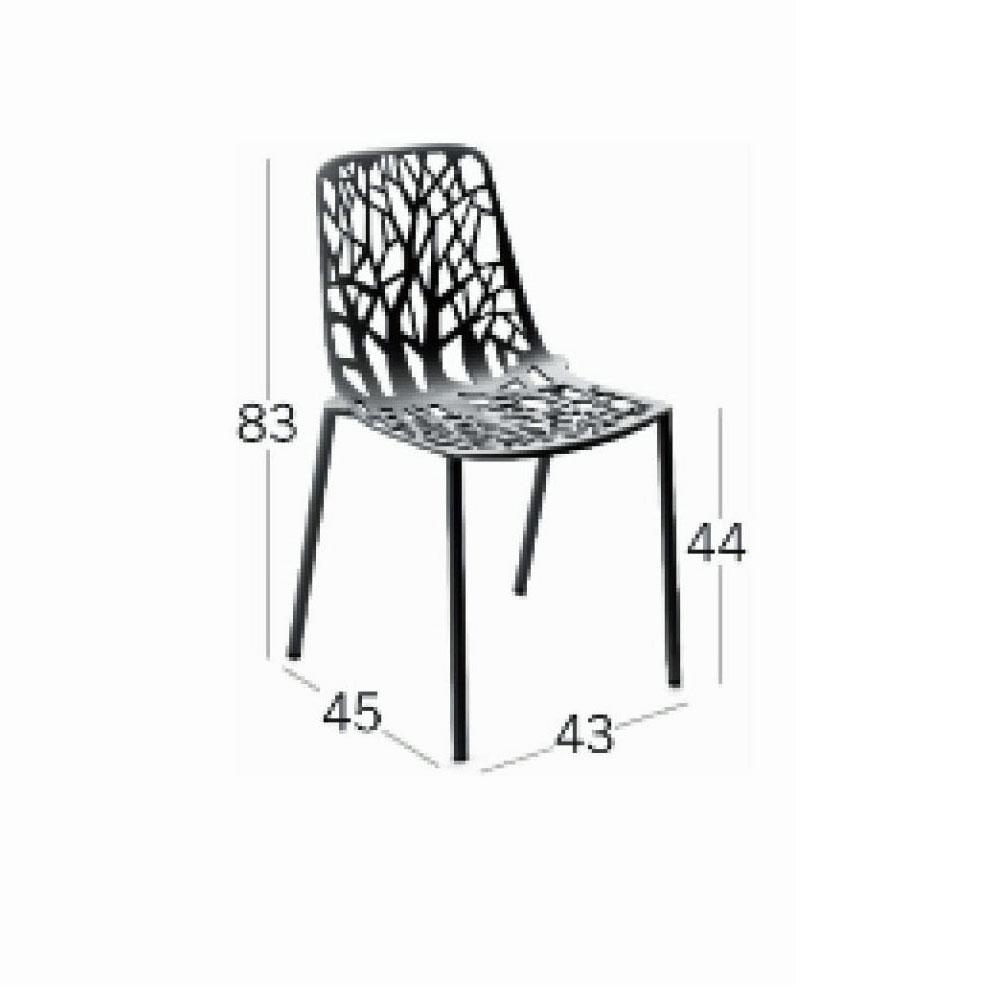Forest Stuhl - Maße
