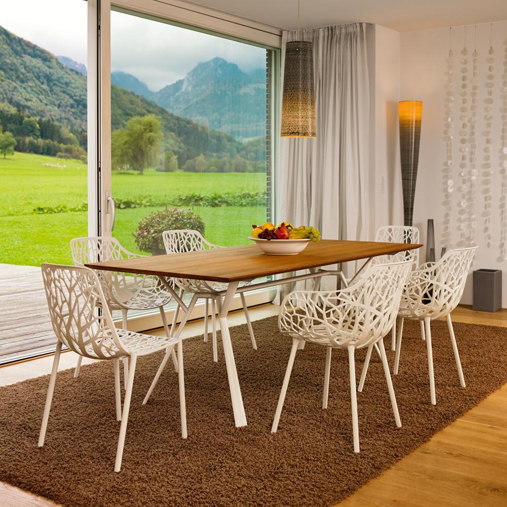 Forest Sessel- Innen als Esszimmerstuhl