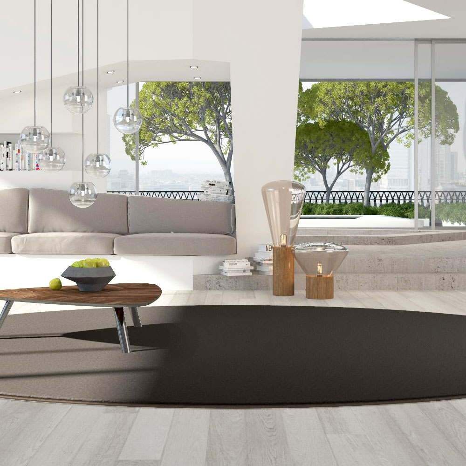 Object Carpet - Nyltecc 700 - Farbe 763 Mokka - Raumbild