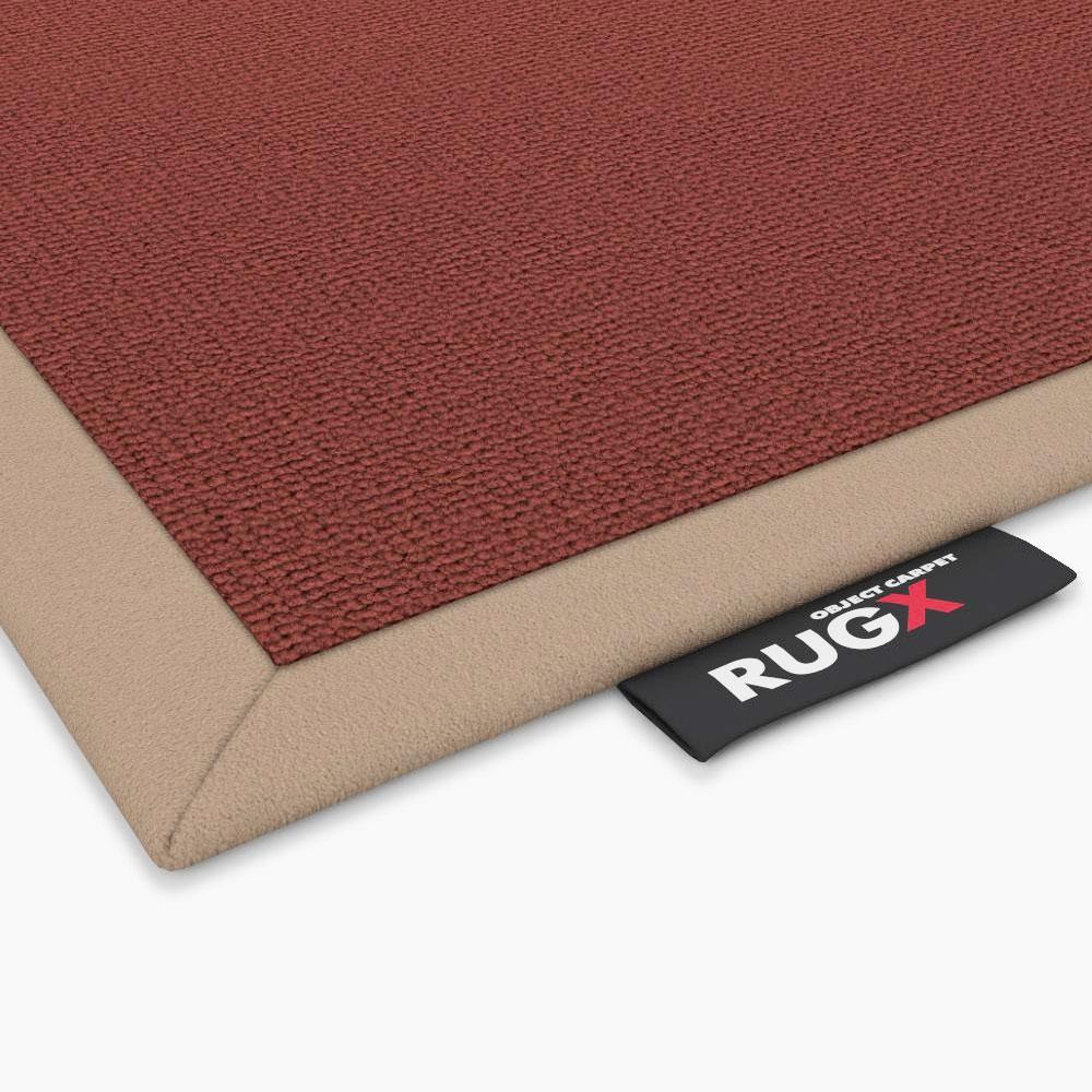 Object Carpet - Nylrips 900 - Einfassung Rauhlederoptik schmal