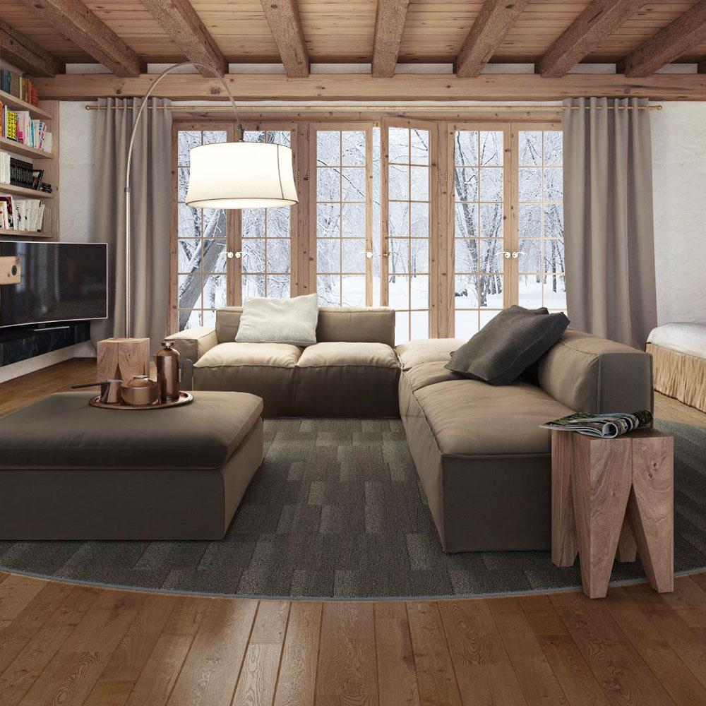 Object Carpet - Field 700 - Farbe 773 Metallic Stone