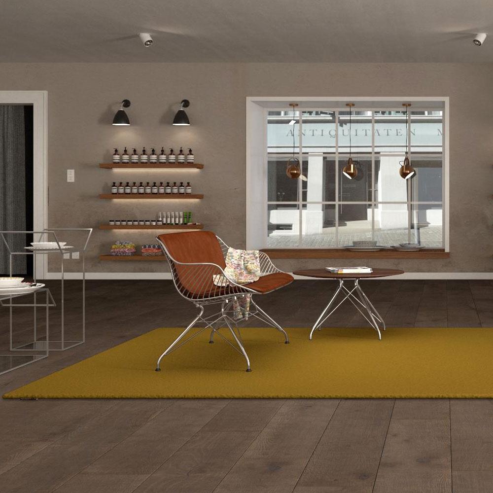 Object Carpet - Contract 1000 - Farbe 1068 Senf