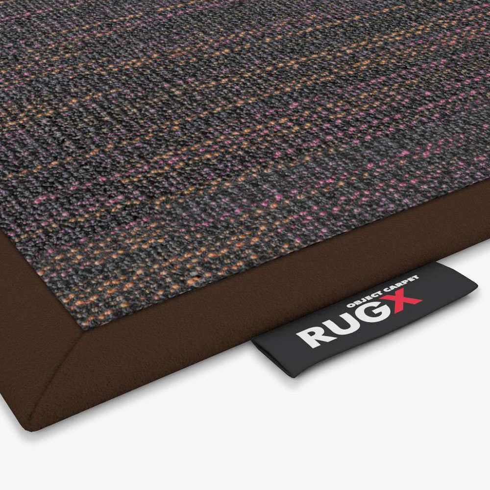 Object Carpet - Colored Pearl 800 - Einfassung Rauhlederband
