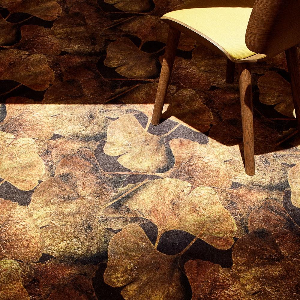 Ginko Leaf rust - Detailansicht