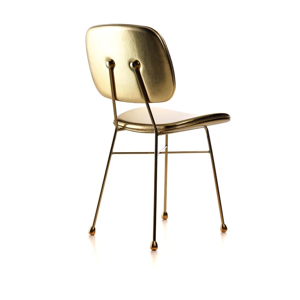 The Golden Chair - Farbe gold - Rückenseite