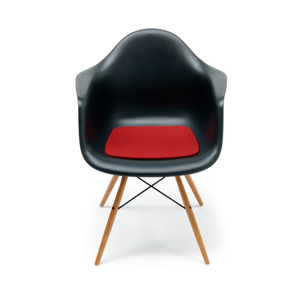 Hey Sign Sitzauflage Eames Plastic Armchair - Farbe 11 Rot