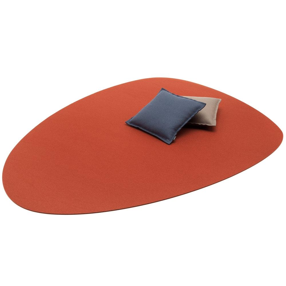 Hey Sign Filzteppich Stone - Farbe 66 Iron