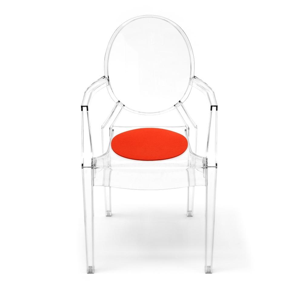 Hey Sign Sitzauflage Louis Ghost - Farbe 20 Mango