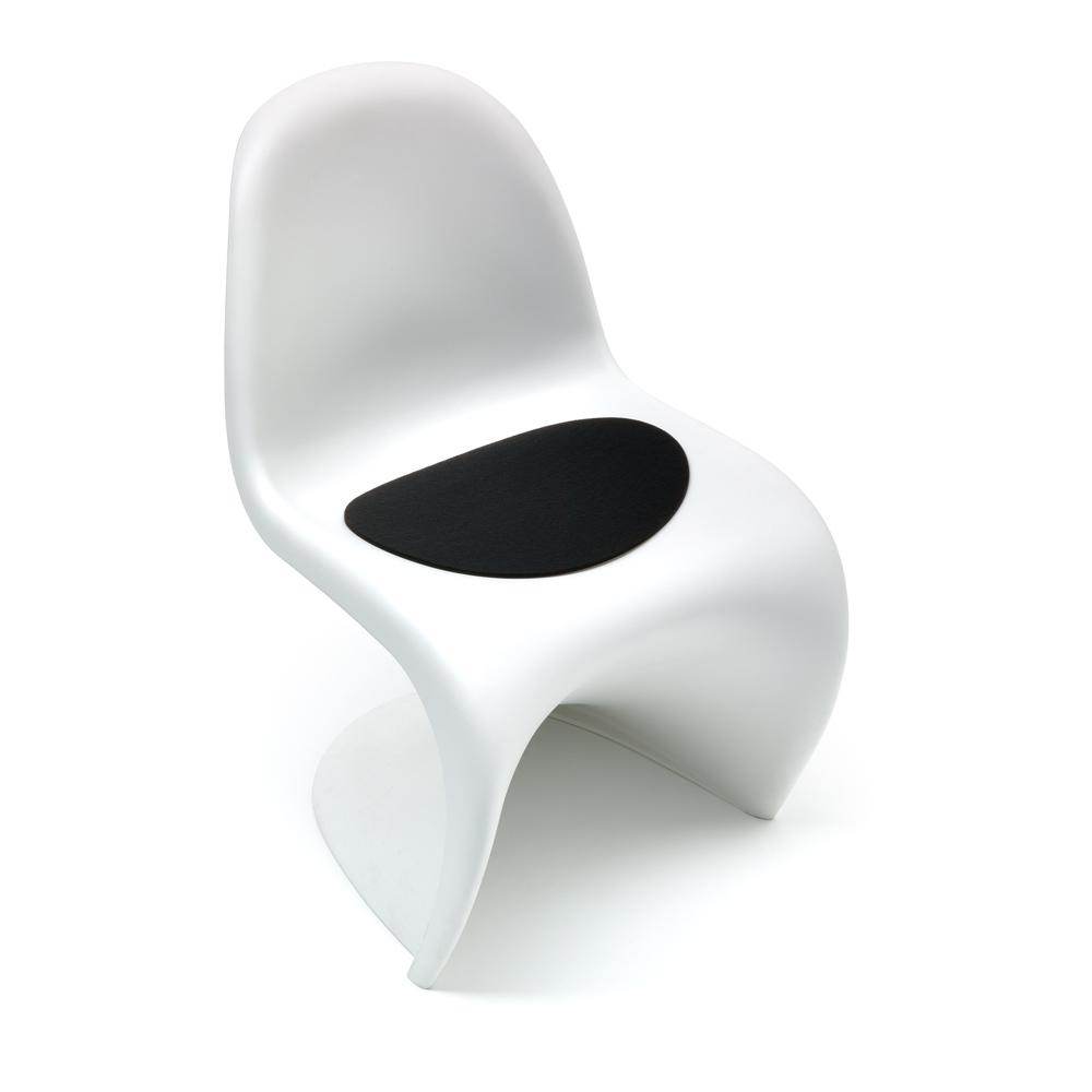 Hey Sign Sitzauflage Panton Chair - Farbe 02 Schwarz