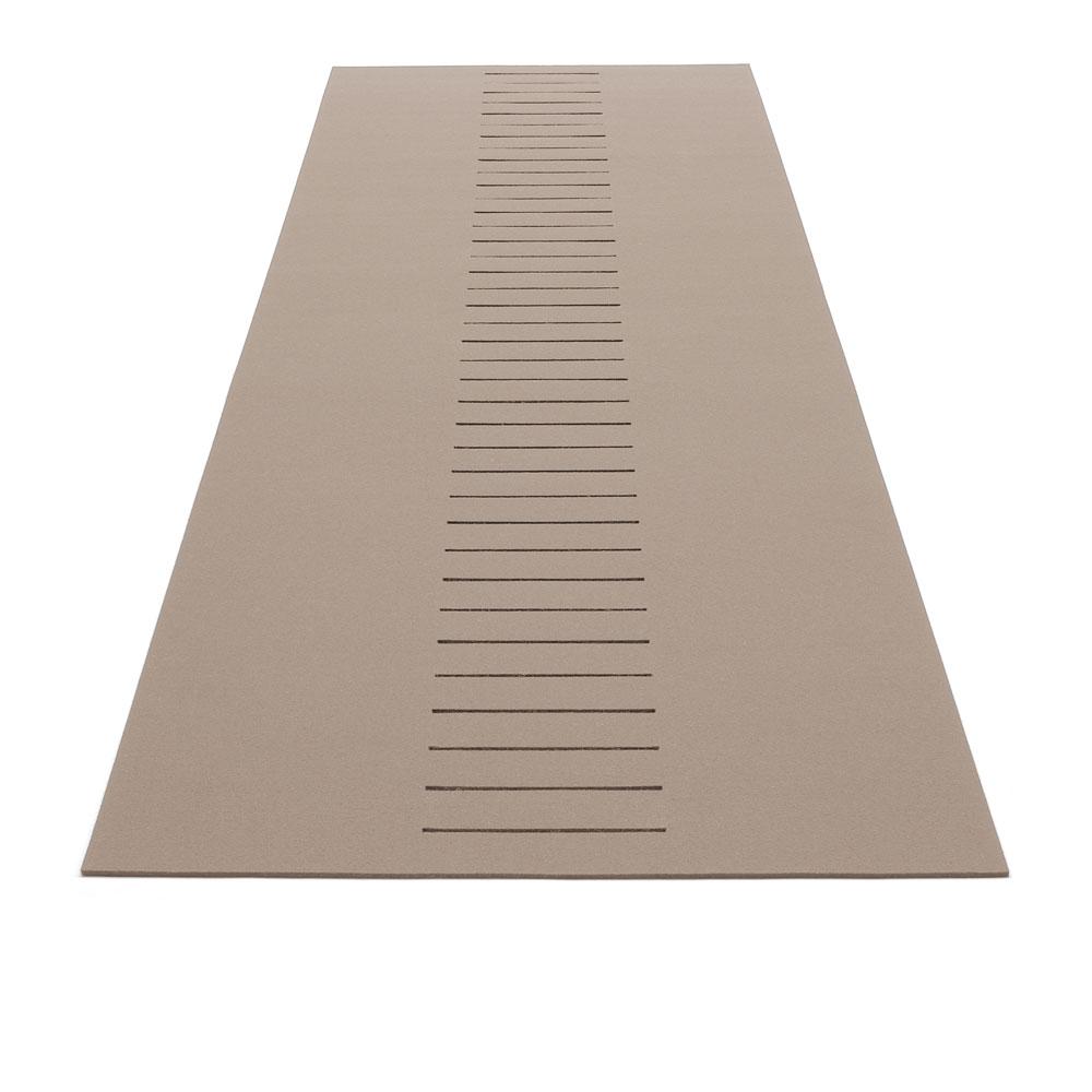 Teppich Schlitz - Farbe 36 Stone