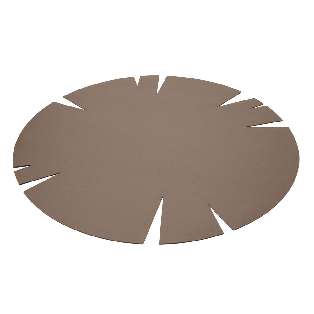 Hey Sign Filzteppich Slot - Farbe 35 Taupe