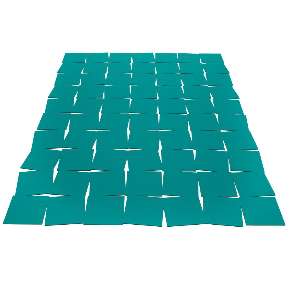 Hey Sign Filzteppich Tiles - Farbe 39 Deep Water