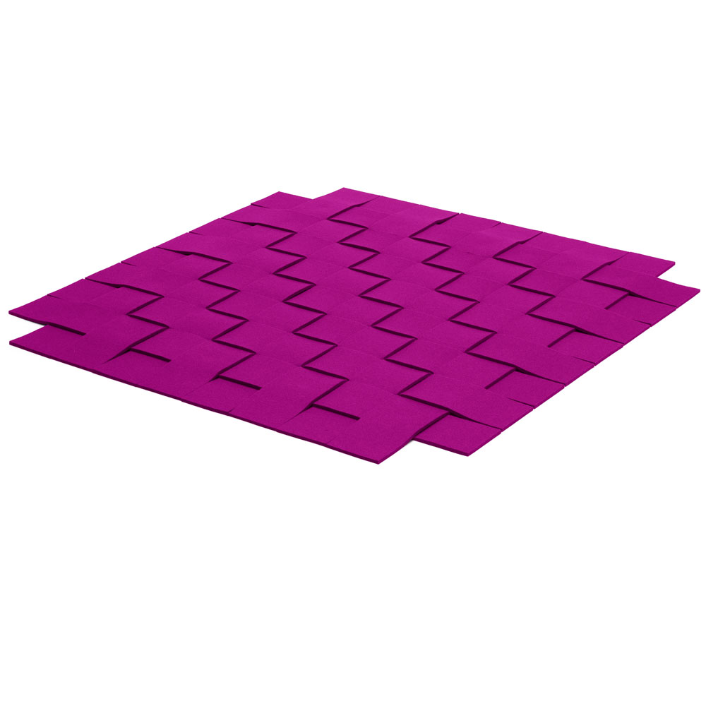 Hey Sign - Teppichgeflecht - Farbe 32 Pink