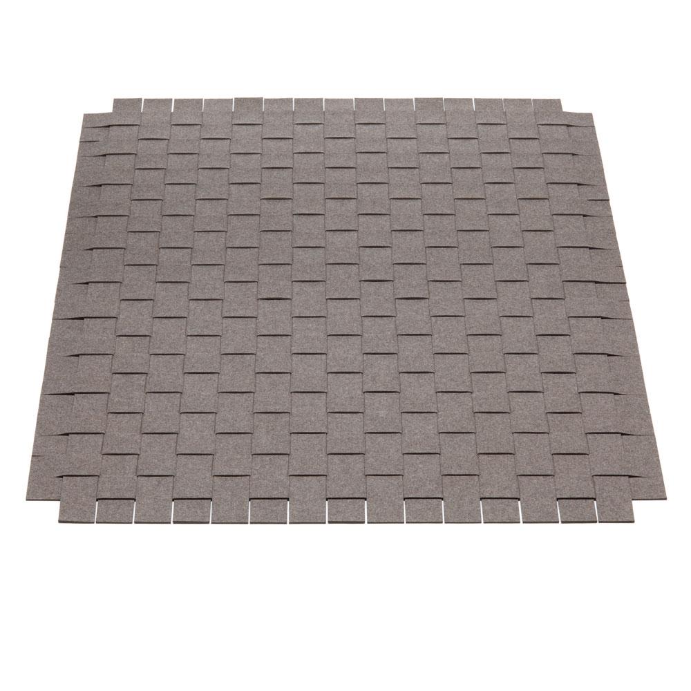 Teppichgeflecht - Farbe 09 Braunmeliert