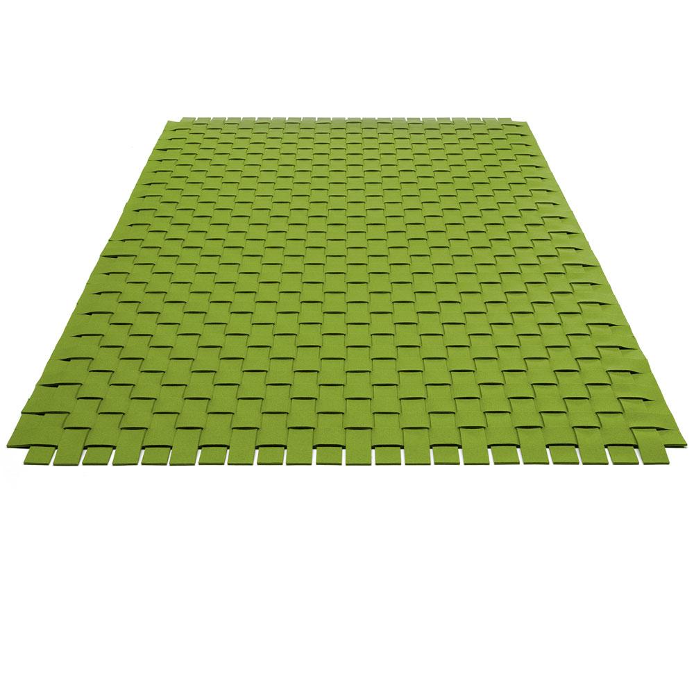 Teppichgeflecht - Farbe 30 Maigrün