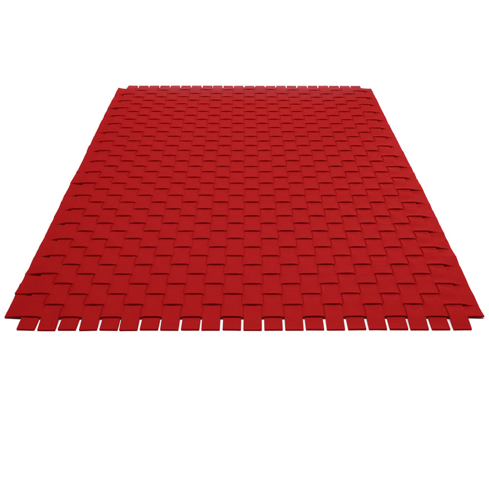 Teppichgeflecht - Farbe 11 Rot