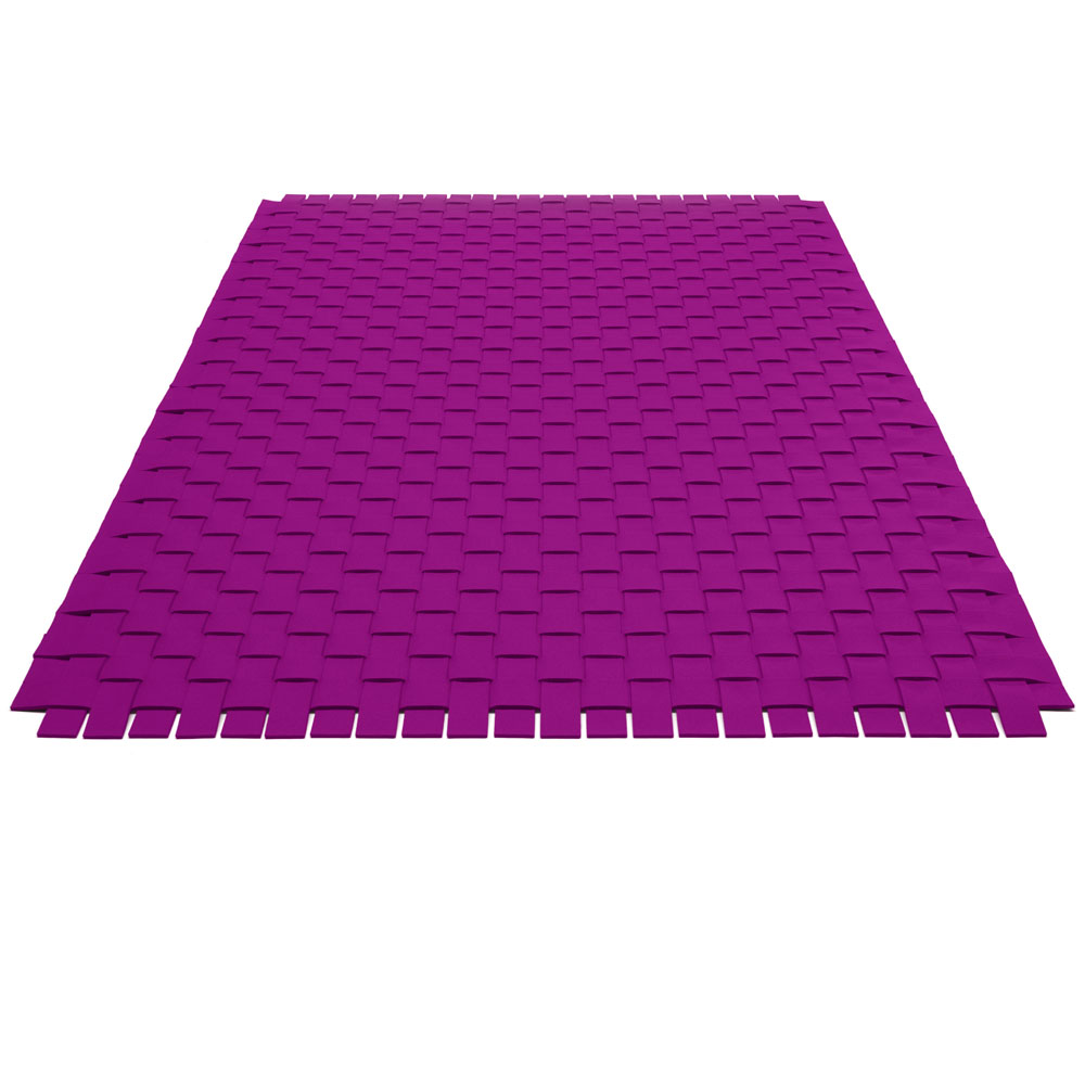 Teppichgeflecht - Farbe 22 Flieder