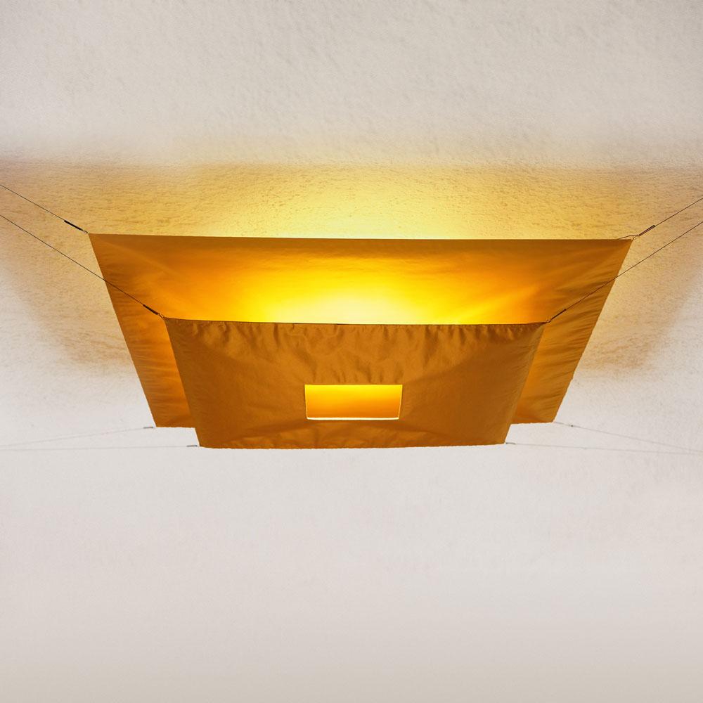 Ingo Maurer Deckenleuchte Lil Luxury 2 - Farbe gold