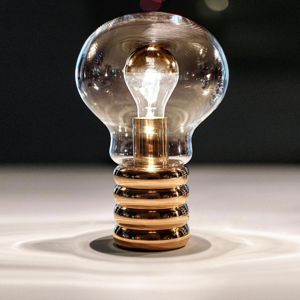 Ingo Maurer Tischleuchte Bulb Brass
