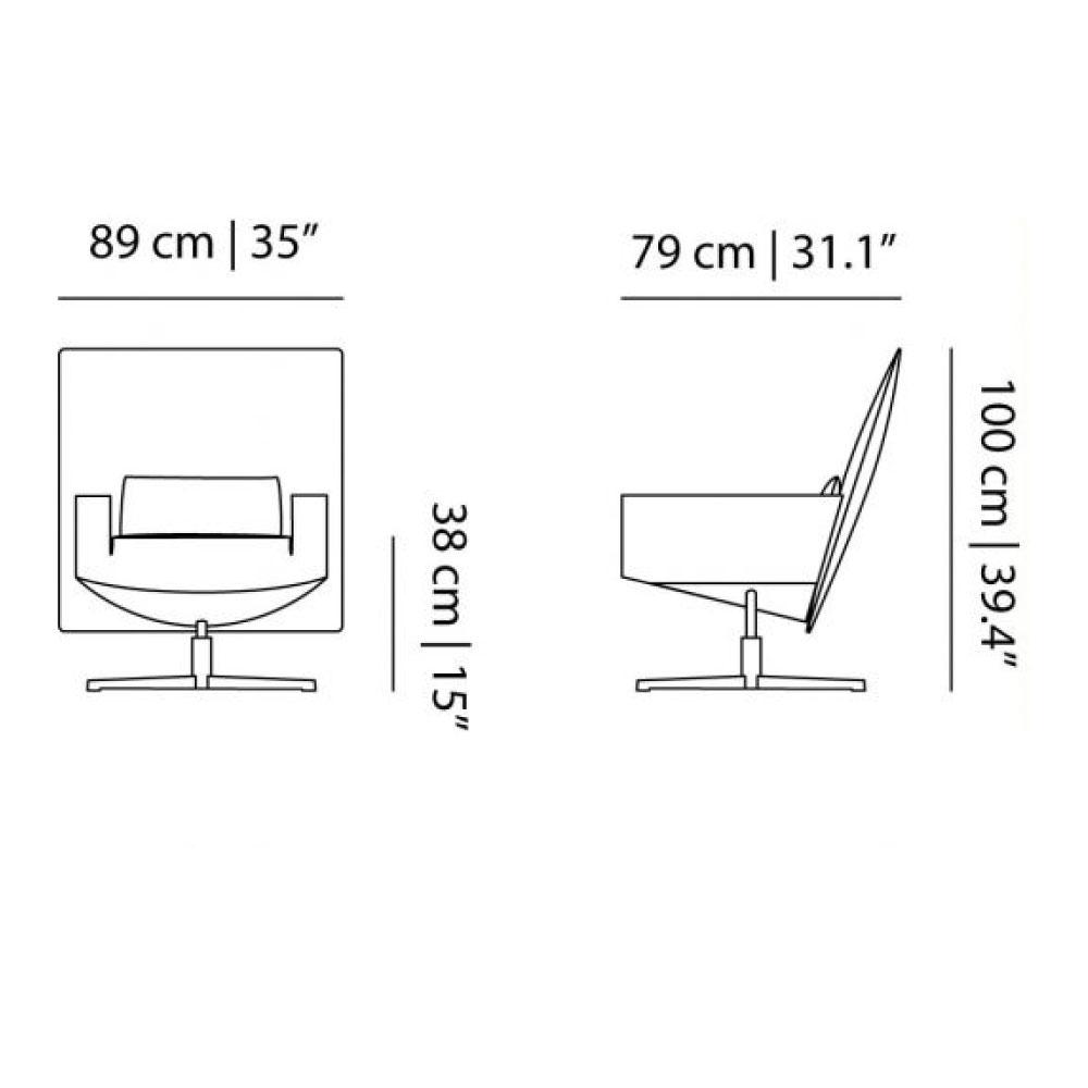Jackson Chair - Maße