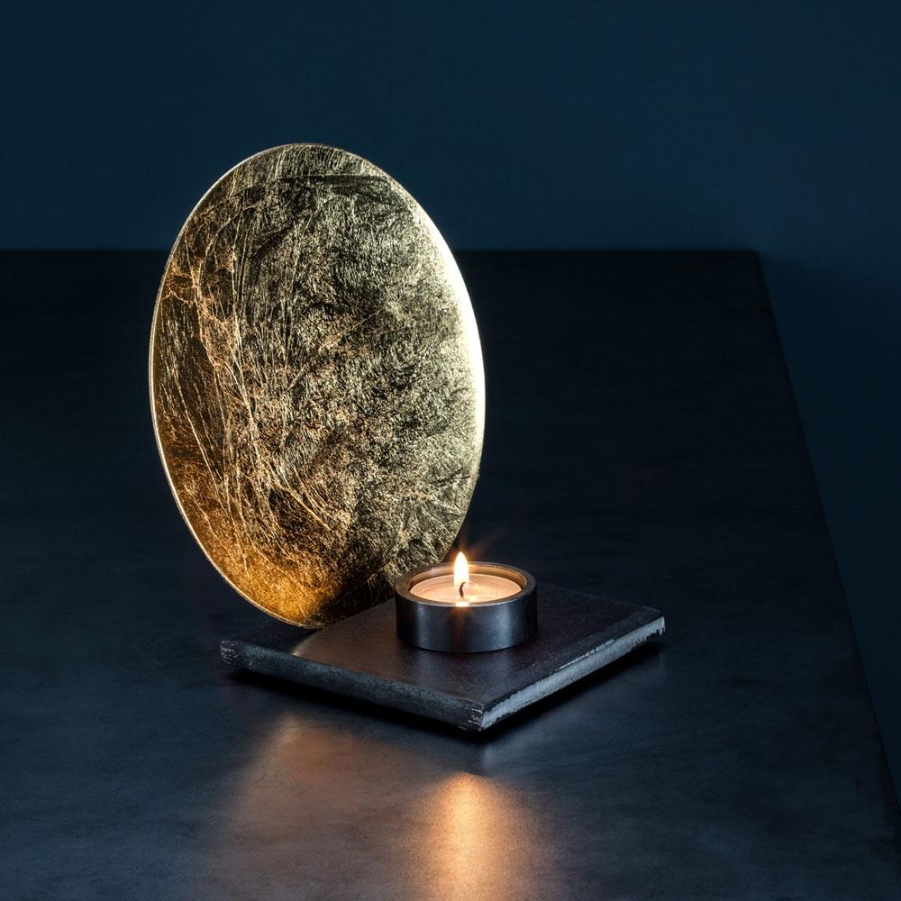 Kerzenleuchter Luna - gold