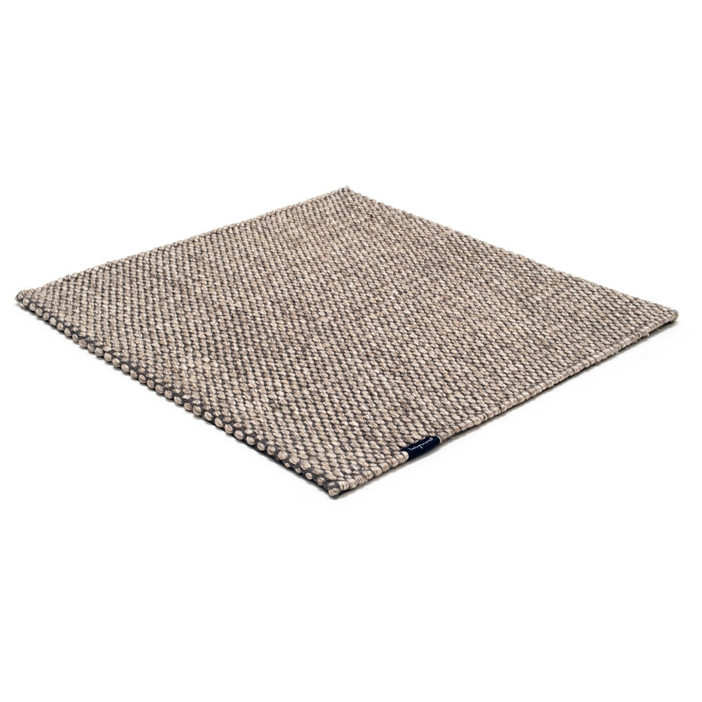 Teppich Nordic Drop - Farbe nature & grey