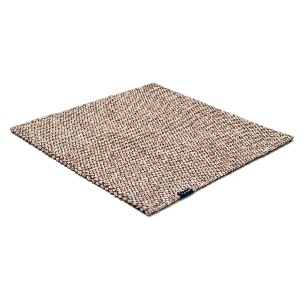 Teppich Nordic Drop - Farbe nature & nougat