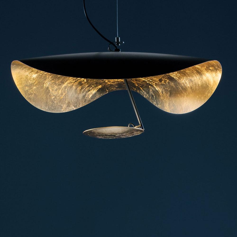 Lederam Manta S1 - schwarz/gold