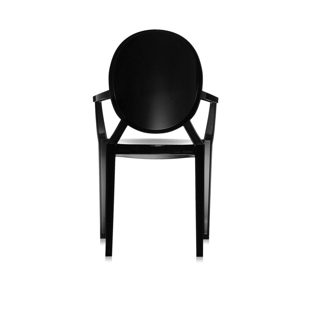 Louis Ghost - schwarz glänzend - Rückseite