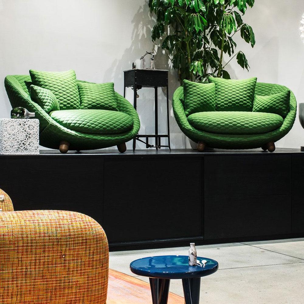 Love Sofa - Bezugsstoff Summit Uni - Grass