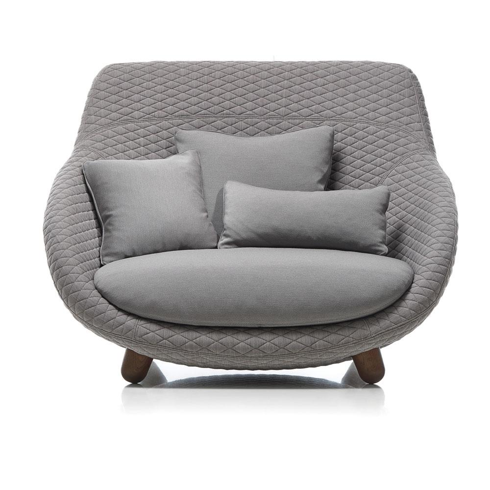 Love Sofa High Back - Bezug Summit Uni/ Twill - Farbe Grey